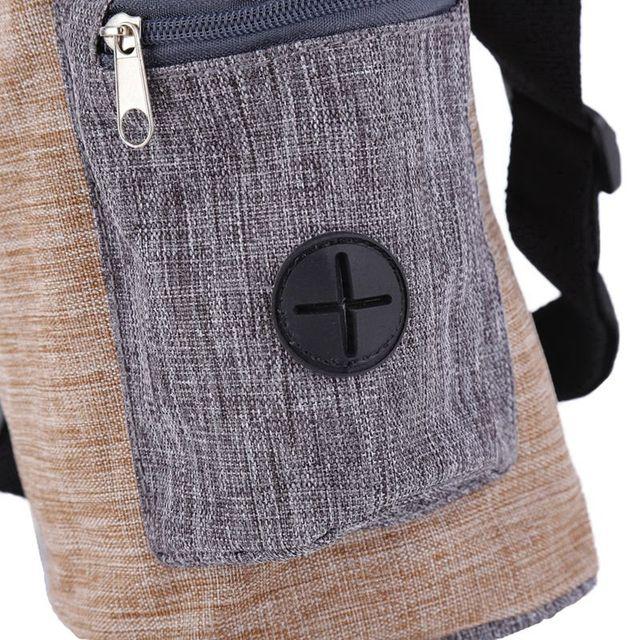 Sac de rangement Portable pour chiens | Pochette de traitement en plein air pour animaux domestiques, mains libres entraînement, sac de ceinture pour jolis chiens, porte les produits pour animaux de compagnie