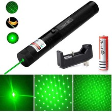 High Powerful Laser 303 pointer Green Laser Sight 532nm 5mw Green light laser device Adjustable Focus