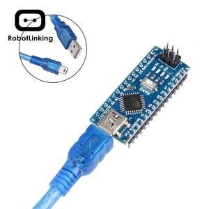 Image 4 - Arduino Nano V3.0, 나노 보드 ATmega328P 5V 16M 마이크로 컨트롤러 보드 (USB 케이블 포함) (나노 x 5 + 케이블)