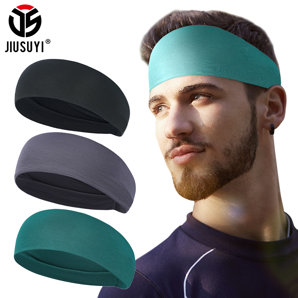 Fashion Sweat Sweatband Breathable Elastic Band Simple Soft