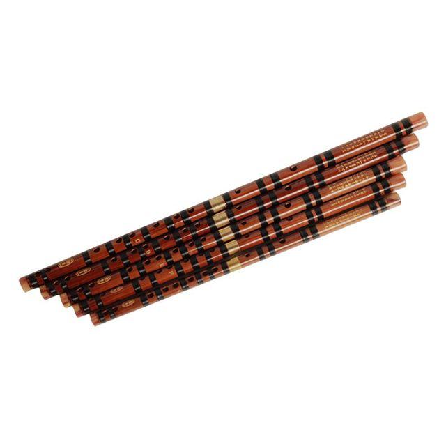 Profesjonalny zdejmowany flet bambusowy początkujący C D E F G klucz poprzeczny Dizi