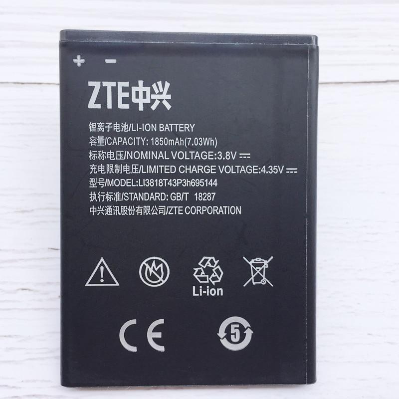 Оригинальный высококачественный аккумулятор Li3818T43P3h695144 3,8 В 1850 мАч для ZTE V830w Kis 3 Max, для ZTE Blade G Lux, мобильный телефон