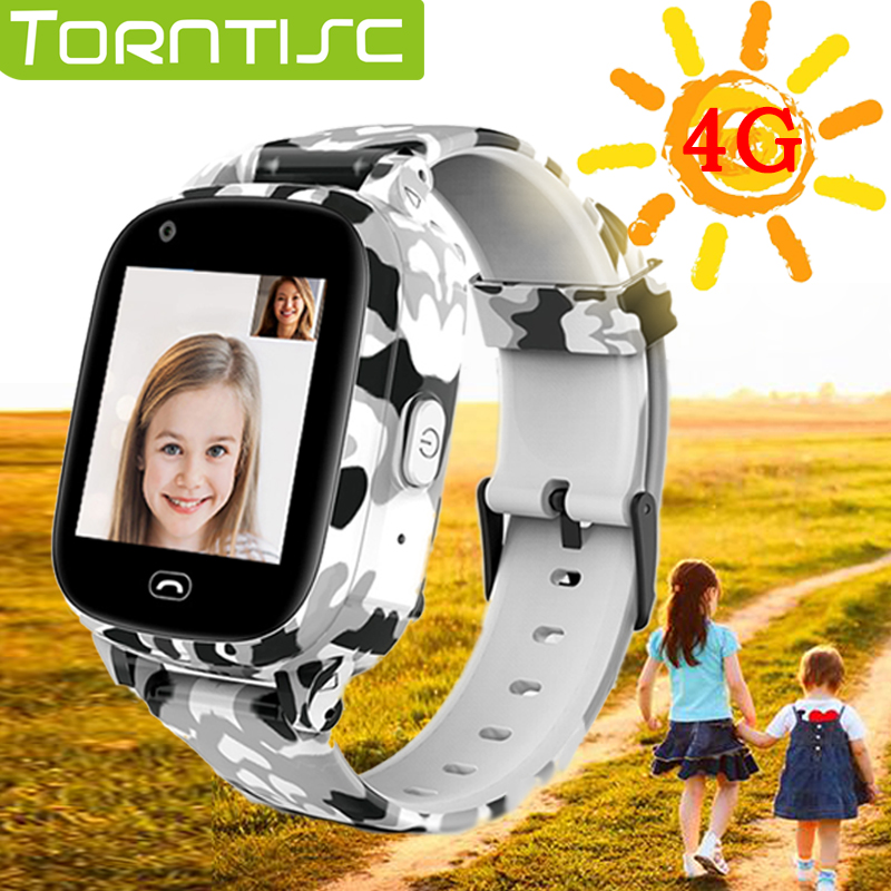 Torntisc 1.4inch 240*240 4G kids GPS smart watch kid video call 650 mah WIFI SOS function children smartwatch for kids|Smart Watches|   - AliExpress