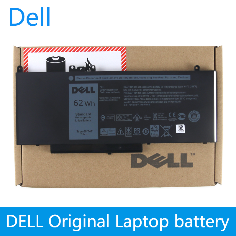 Dell Original New Replacement Laptop Battery For Dell Latitude E5470 E5570 Notebook 15.6