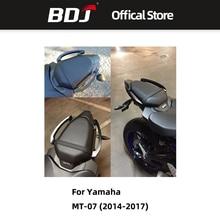 BDJ Motorcycle Rear Seat Passenger Pillion Handle Grab Bars CNC Aluminum Alloy For Yamaha MT-07 MT 07 MT07 FZ-07 2014-2017 motoo new rear seat pillion passenger grab high quality rear grab bars rail handle for yamaha mt07 fz07 mt 07 fz 07 2014 16