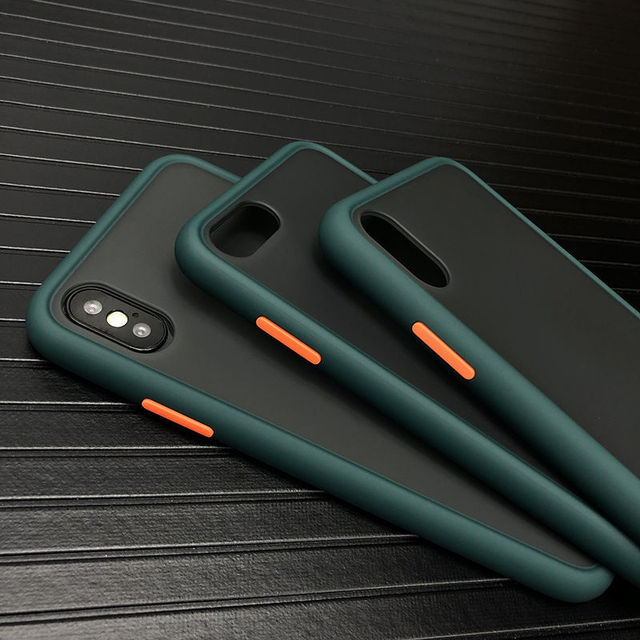 Shockproof Phone Case Back Cover For iPhone 11 Pro Max Luxury Translucent Soft Case For iPhone X XS Max XR 9 8 7 6 6S Plus Case 1