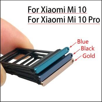 Support+de+fente+pour+plateau+de+carte+SIM+pour+pi%C3%A8ce+de+rechange+Xiaomi+Mi+10+Mi10+Pro