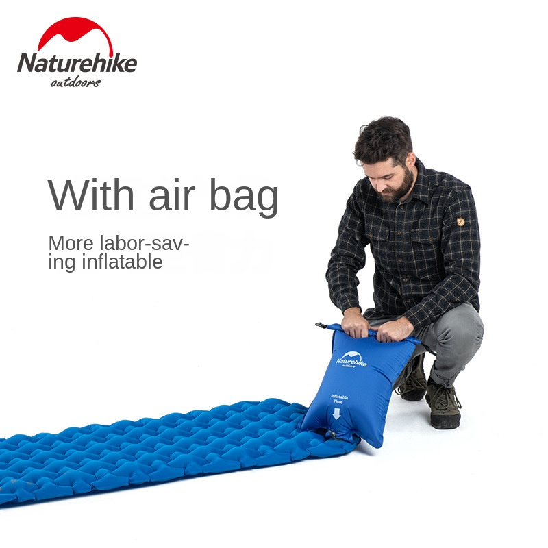 naturehike dobravel portatil ultra leve colchao inflavel 02