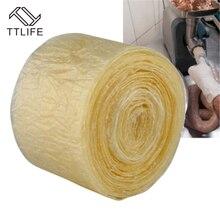 TTLIFE 30 مللي متر 50 مللي متر الصالحة للأكل السجق أدوات التعبئة والتغليف السجق أنبوب غلاف لآلة صانع السجق هوت دوج همبرغر أدوات الطبخ