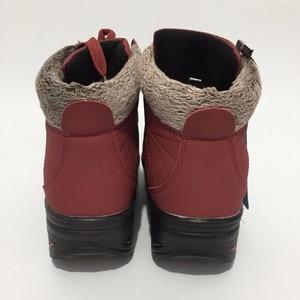 Image 3 - New Listinghigh Quality Fashion Warm Snow Boots 2018 Heels Winter Women Platform