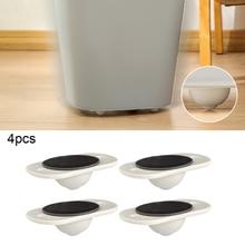 4 шт Клей ролики шкива для шкаф с выдвижными ящиками для хранения ящик мусорное ведро небольшой мебель оборудование, колесо коробки катания ...