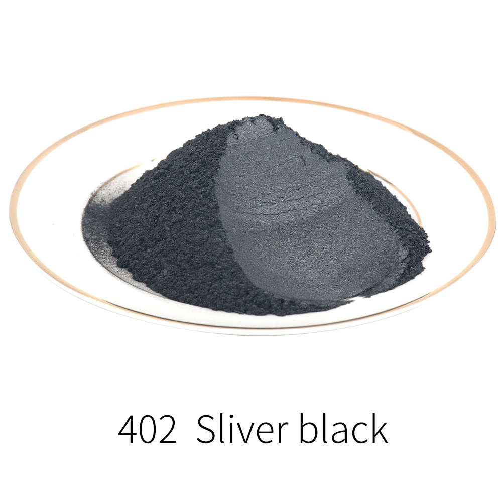 Pearl Powder Coating Natural Mineral Mica Dust Type 402 Pearlized Pigment DIY Dye Colorant 10/50g For Soap Eye Shadow Cars Craft