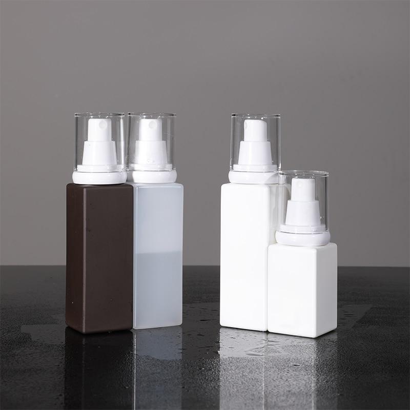 2PCS/lot Empty Spray Bottles 50ML 100ML Plastic Perfume Atomizer Travel Cosmetic Container Portable Travel Bottle