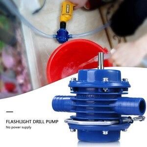 Image 3 - MINI Self Priming มือไฟฟ้าเจาะน้ำมันปั๊มน้ำแบบพกพา Micro ในครัวเรือนสวนปั๊มแรงเหวี่ยง