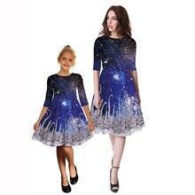Рождественские платья для мамы и дочки милые наряды семейвечерние
