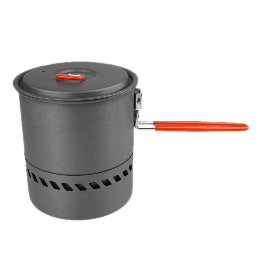 Hot Sale Bulin Portable Heat Exchanger Pot Camping Pot Outdoor Water Kettle 1.5L
