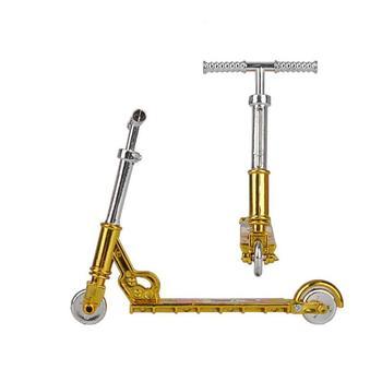 Mini hulajnoga dwukołowiec skuter zabawki edukacyjne dla dzieci Mini hulajnoga Fingerboard rower podstrunnica deskorolka Mini samochód symulacyjny zabawka tanie i dobre opinie Z tworzywa sztucznego CN (pochodzenie)