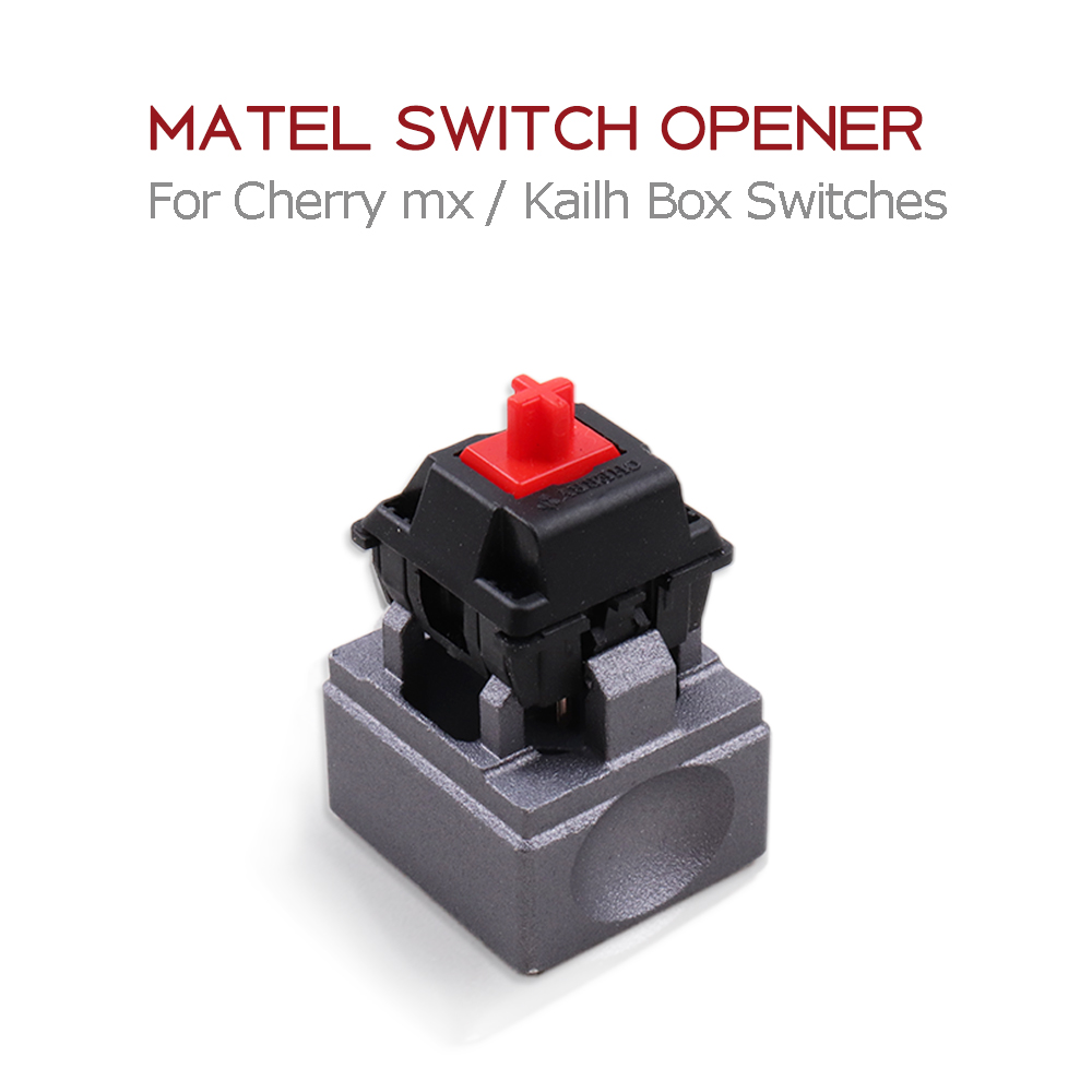 Metal Switch Opener Lubrication Kit Mechanical Keyboard Keycaps Aluminum Alloy Opener Instantly for Cherry mx Switches