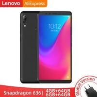 Original Global Version Lenovo K5 Pro 6GB RAM 64GB / 128GB Snapdragon 636 Octa Core Four Cameras 5.99 inch 4G LTE Smartphone