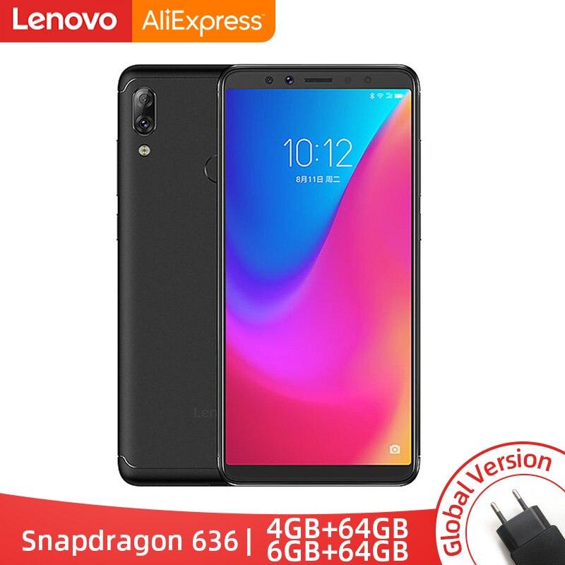 Version mondiale originale Lenovo K5 Pro 6 go de RAM 64 go/128 go Snapdragon 636 Octa Core quatre caméras 5.99 pouces 4G LTE Smartphone
