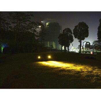 Ao Ar Livre Lâmpada De Iluminação À Prova D' Água IP65 AC85-265V DC12V 3w Lâmpada Caminho Do Jardim Pátio Conduziu A Luz De Inundação Luz Do Ponto