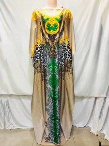 Image 5 - 2020 nowa afrykańska druku elastyczne bazin workowate spodnie rock style dashiki letnie sukienki dla pani/kobiety