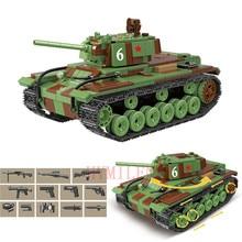 World War 2 WW2 Soldiers M4 Sherman Medium Tank Armored Vehicle Military SWAT Army Building Blocks Figures Toys birthday present