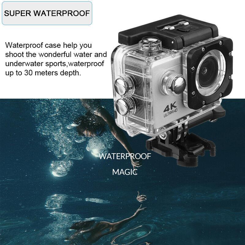 SJ4000 Action Camera Ultra HD 4K / 30fps WiFi 2.0