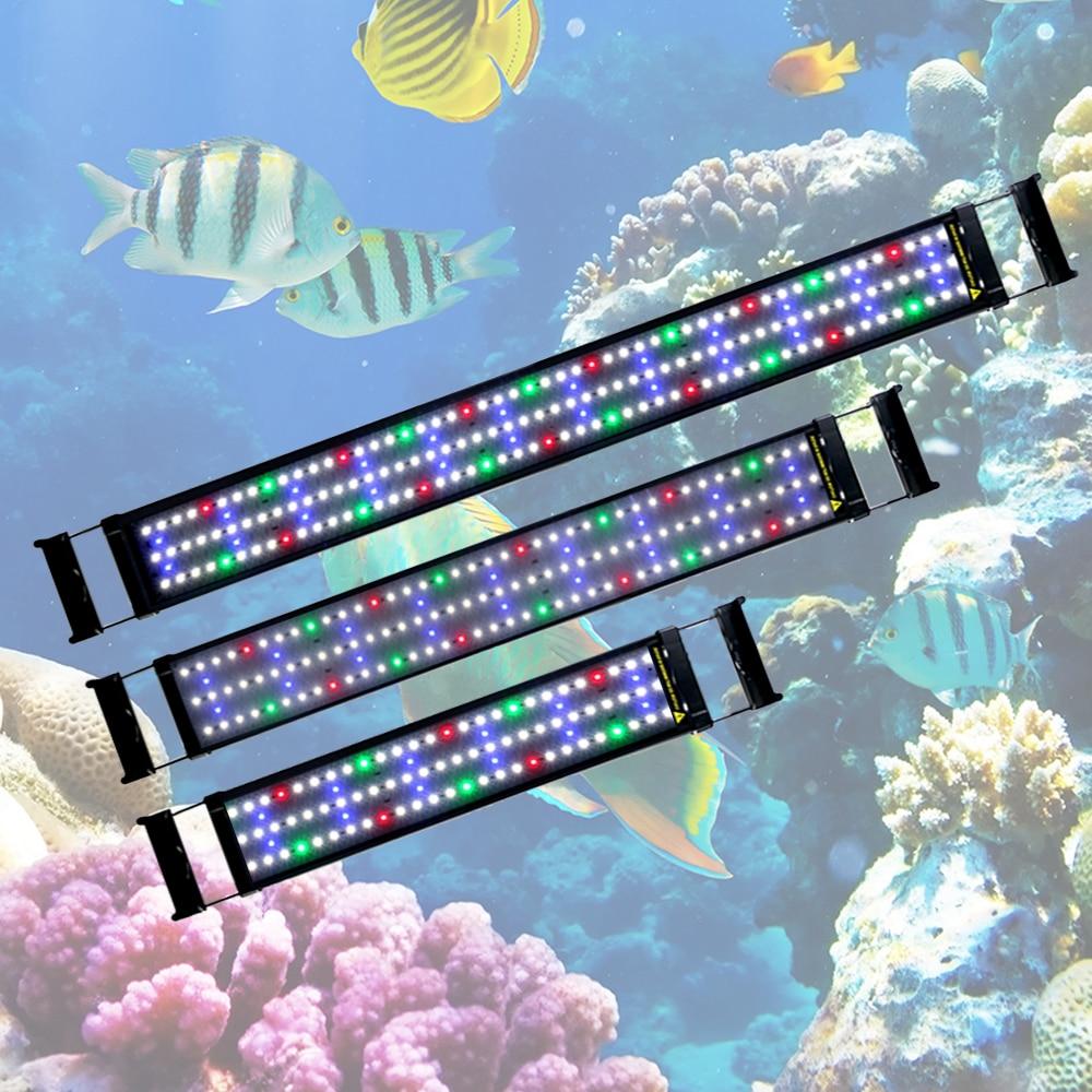 Gako Colorful LED Aquarium Light Aquatic Plant Light With Extendable Brackets Lamp For Aquarium Fish Tank Lighting Decro