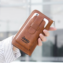 Clutch Pocket-Bag Wristband Money-Purses Phone Wallet Casual Large-Capacity Men's
