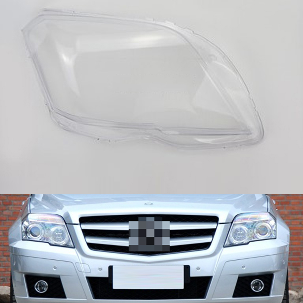 Car Headlamp Lens For Mercedes-Benz 204GLK GLK200 GLK280 GLK350 2008 2009 2010 2011 2012 Headlight Cover Auto Shell Cover