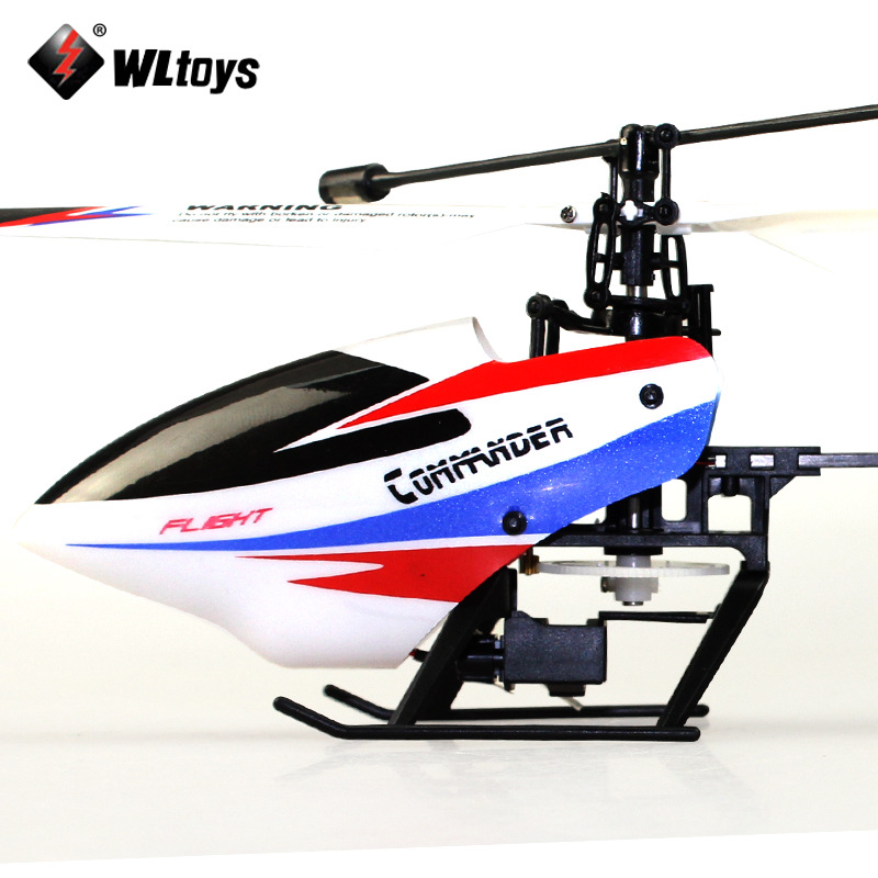 Weili V911-2 Brand New Upgraded Four-Channel Stand-up Remote Control Helicopter Non-Aileron Unmanned Aerial Vehicle Model Airpla