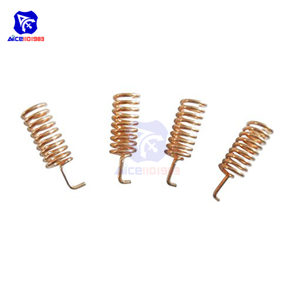 10PCS 868MHz Helical Antenna 2.15dBi 13mm Stable for Remote Contorl
