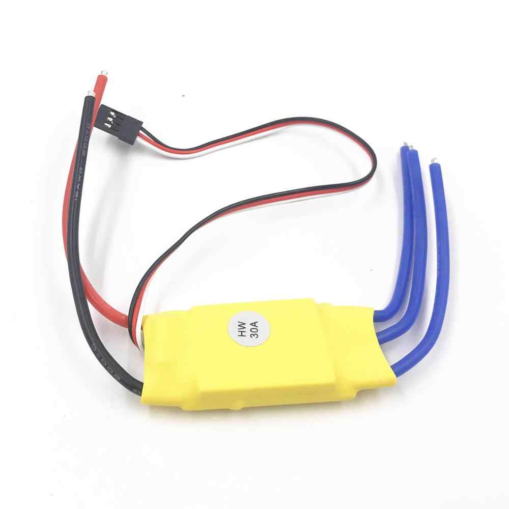 Xxd HW30A 30A Esc Brushless Motor Speed Controller Rc Bec Esc T-Rex 450 V2 Helicopter Boot Voor Fpv f450 Mini Quadcopter Drone