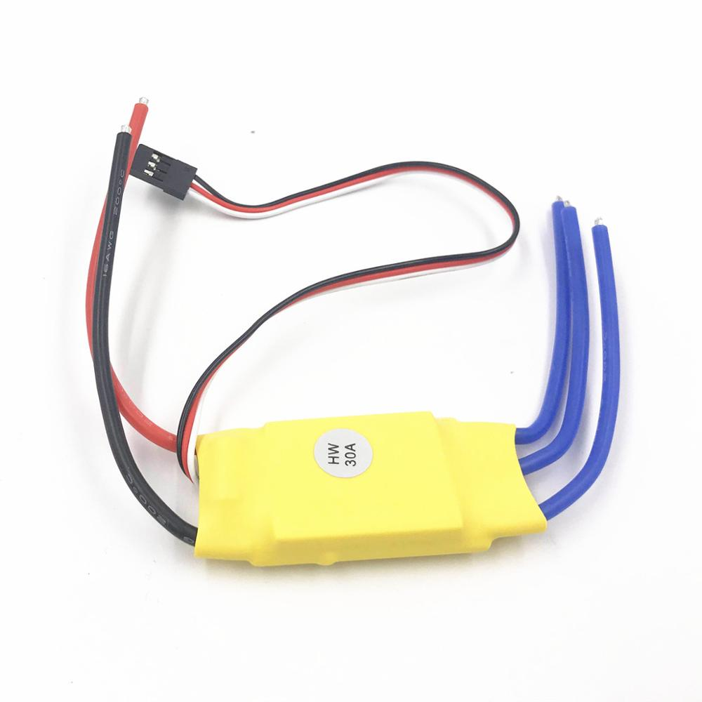 XXD HW30A 30A ESC Brushless Motor Speed Controller RC BEC ESC T-rex 450 V2 Helicopter Boat for FPV F450 Mini Quadcopter Drone(China)
