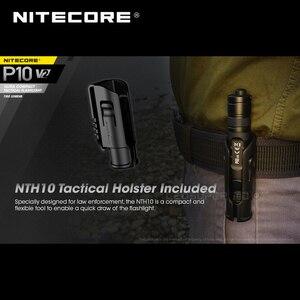 Image 4 - 2nd דור NITECORE P10 V2 CREE XP L2 V6 LED STROBE מוכן™אולטרה קומפקטי טקטי פנס 1100 Lumens