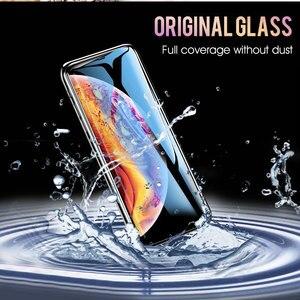 Image 3 - Szkło hartowane 30D dla iphone 11 8 7 6 Plus X XS MAX szkło iphone 11 Pro MAX szkło ochronne na iphone 11 pro
