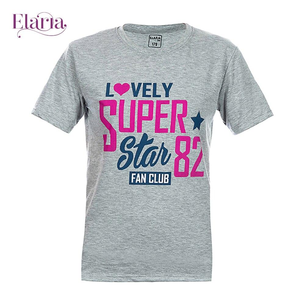 цена на T-Shirts Elaria Tsg-17-1 children's clothing t-shirt for boys for girls clothes