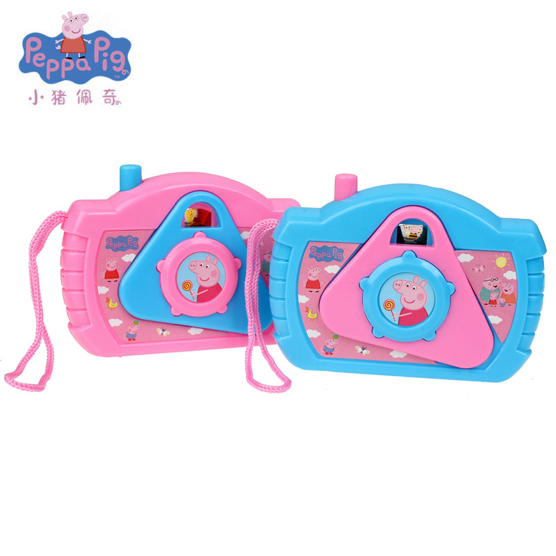 Brand New Peppa Pig Toys George Pig Kaleidoscope Toy For Children's Simulation Camera Cute Cartoon Children's Birthday Gifts