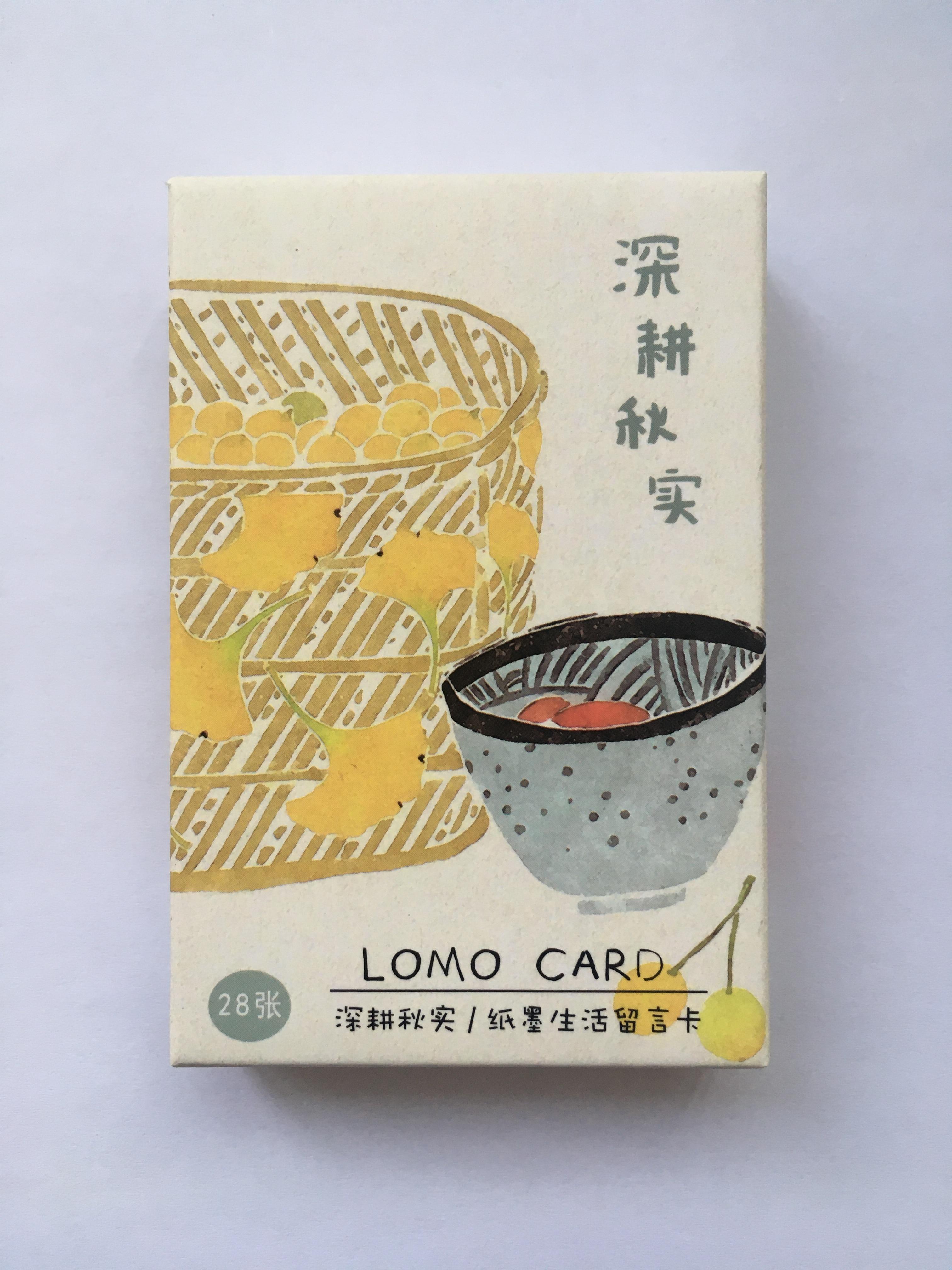 L146- Happy Farmland Paper Lomo Cards(1pack=28pieces)
