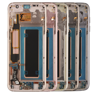 Image 5 - ORIGINAL 5.5 Display with Burn Shadow LCD with Frame for SAMSUNG Galaxy S7 edge G935 G935F Touch Screen Digitizer Assembly