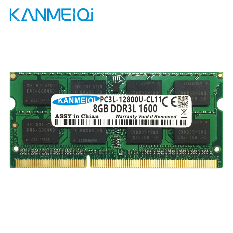 KANMEIQi DDR3 Laptop Memory With 2GB 4GB 8GB And 1333Mhz 1600MHZ 1866MHZ