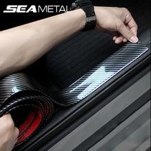 Adesivi per auto 5D In Fibra di Carbonio di Gomma Per Lo Styling Protector Soglia Della Porta Adesivi Per Auto Universale di Tutto il Corpo di Protezione Del Vinile Accessori