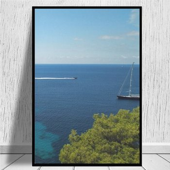 Es Vedra, the magical island of the balearic Ibiza canvas prints Painting On Canvas Posters Prints Cuadros Home Decor Bedroom image