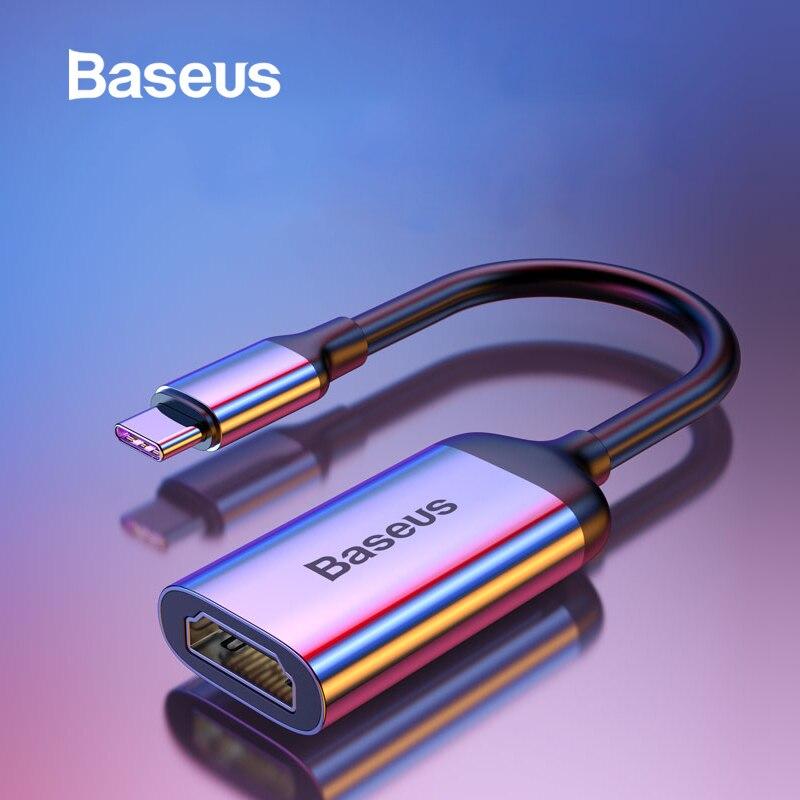 Baseus Multi USB C HUB USB 3.0 HDMI VGA USB Splitter Type C Adapter For MacBook Pro PC Accessories PD Charging Type C HUB