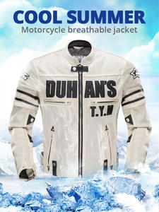 DUHAN Protector Moto Jacket Cross-Clothing Mesh Body-Armor Riding Men Breathable