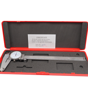 Image 4 - Dial Calipers 0 150 0 200 300 mm 0.01mm High Precision Industry Stainless Steel Vernier Caliper Shockproof Metric Measuring Tool