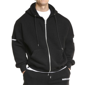 Fashion Trends Men's New Style Sport Hoodies Casual Running Training Loose Zipper Hooded Coats Spring Autumn Brand Clothing(China)