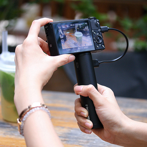 Image 5 - 울란지 BG 2 6800mAH 핸들 그립 파워 스틱 Gopro 8 7 Osmo 포켓 액션 액션 카메라 핸드 그립 스틱 Vlog 그립 파워 스틱