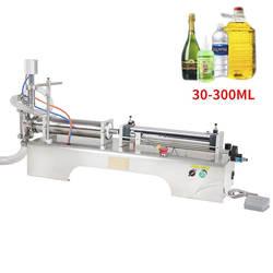 30-300 мл Электрический пневматический с одной головкой машина для наполнения жидкостью шампунь гель Вода Вино Молоко Кофе Машина Для